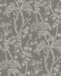 Mistral East West Style Wallpaper Bonsai 2764-24351 By A Street Prints For Brewster Fine Decor